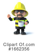 Fireman Clipart #1662356 by Steve Young