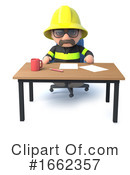 Fireman Clipart #1662357 by Steve Young