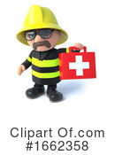 Fireman Clipart #1662358 by Steve Young