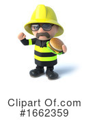 Fireman Clipart #1662359 by Steve Young