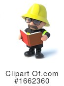 Fireman Clipart #1662360 by Steve Young