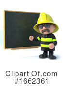 Fireman Clipart #1662361 by Steve Young
