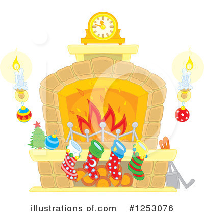 Christmas Clipart #1253076 by Alex Bannykh
