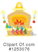 Fireplace Clipart #1253076 by Alex Bannykh