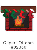 Fireplace Clipart #82366 by Pams Clipart