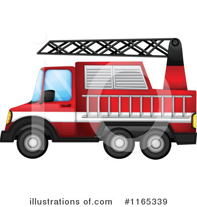 Fire Truck Clipart #1165339 by Graphics RF