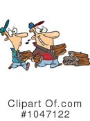 Firewood Clipart #1047122 by toonaday