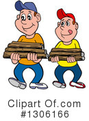 Firewood Clipart #1306166 by LaffToon