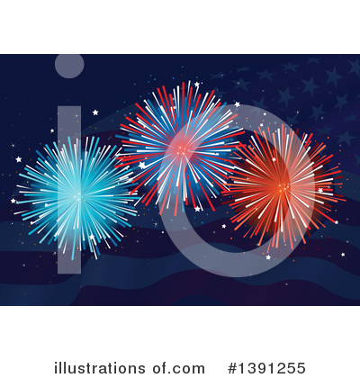 Fourth Of July Clipart #1391255 by Pushkin