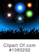 Fireworks Clipart #1083292 by KJ Pargeter
