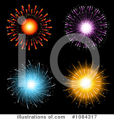 Fireworks Clipart #1084317 by KJ Pargeter