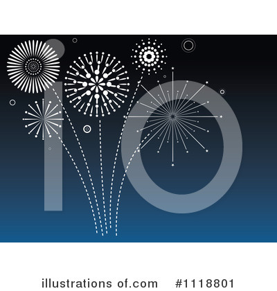 Fireworks Clipart #1118801 by dero