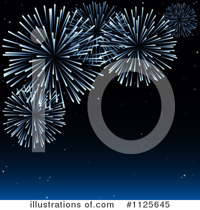 Fireworks Clipart #1125645 by dero