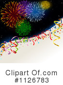 Fireworks Clipart #1126783 by dero