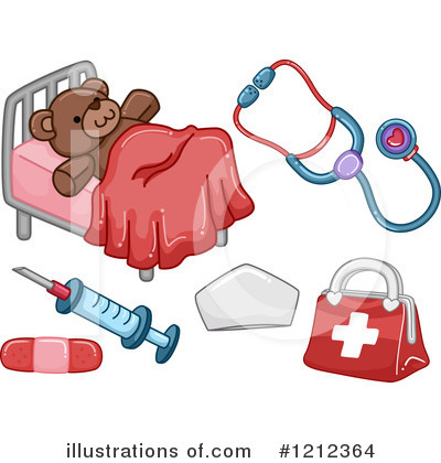 Royalty-Free (RF) First Aid Clipart Illustration by BNP Design Studio - Stock Sample #1212364