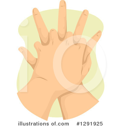 Hands Clipart #1291925 by BNP Design Studio