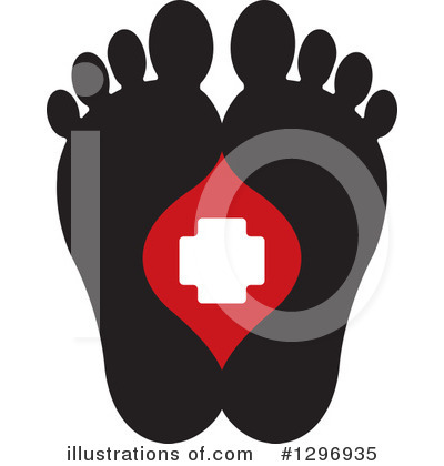 Feet Clipart #1296935 by Lal Perera