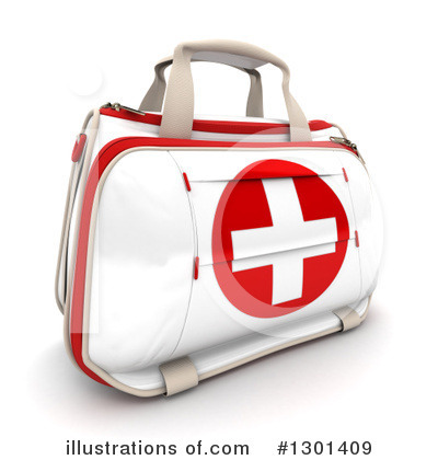 First Aid Kit Clipart #1301409 by Frank Boston