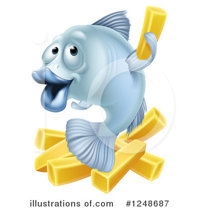 Fish Clipart #1248687 by AtStockIllustration