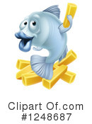 Fish And Chips Clipart #1248687