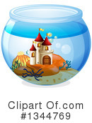 Fish Bowl Clipart #1344769