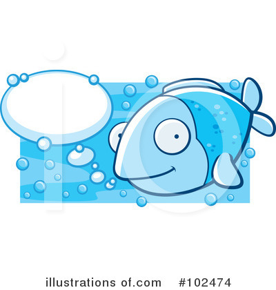 Royalty-Free (RF) Fish Clipart Illustration by Cory Thoman - Stock Sample #102474