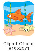 Fish Clipart #1052371 by Any Vector