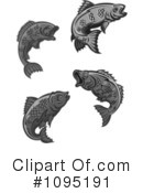 Fish Clipart #1095191 by Vector Tradition SM
