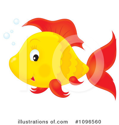 Fish Clipart #1096560 by Alex Bannykh