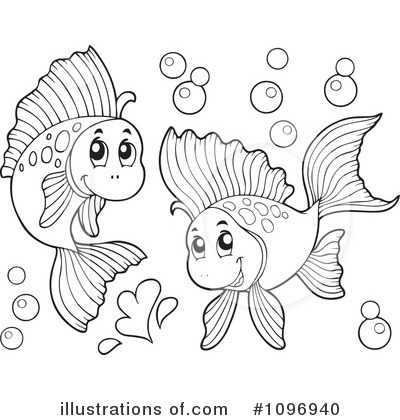 Fish Clipart #1096940 by visekart