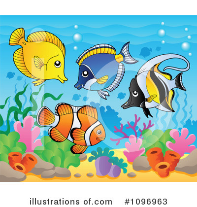 Fish Clipart #1096963 by visekart