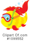 Royalty-Free (RF) Fish Clipart Illustration #1099552