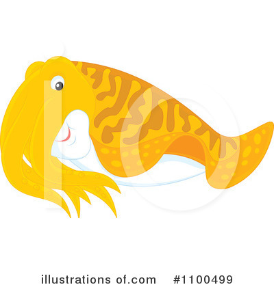 Fish Clipart #1100499 by Alex Bannykh