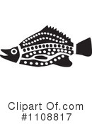 Fish Clipart #1108817 by Dennis Holmes Designs