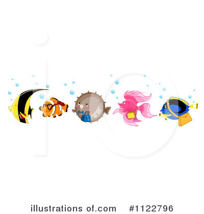 Clownfish Clipart #1122796 by BNP Design Studio