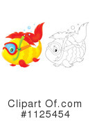 Royalty-Free (RF) Fish Clipart Illustration #1125454