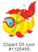 Royalty-Free (RF) Fish Clipart Illustration #1125455