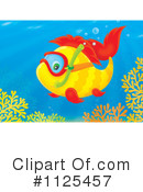 Royalty-Free (RF) Fish Clipart Illustration #1125457
