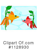 Royalty-Free (RF) fish Clipart Illustration #1128930