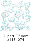 Royalty-Free (RF) Fish Clipart Illustration #1131074