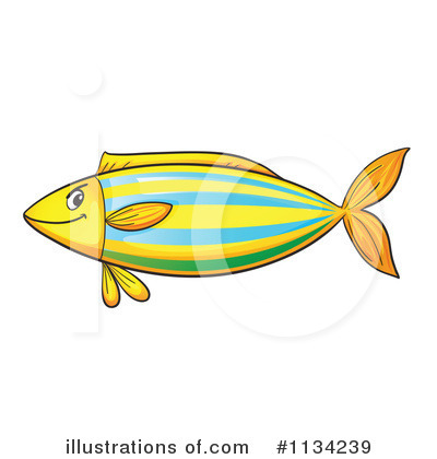 Fish Clipart #1134239 by Graphics RF
