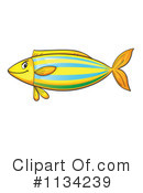Royalty-Free (RF) Fish Clipart Illustration #1134239