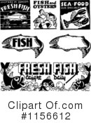 Royalty-Free (RF) Fish Clipart Illustration #1156612