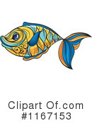 Royalty-Free (RF) Fish Clipart Illustration #1167153