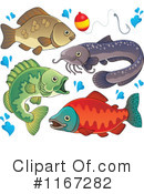 Royalty-Free (RF) Fish Clipart Illustration #1167282