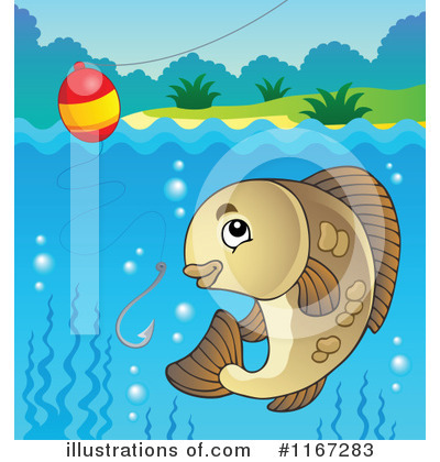 Fishing Clipart #1167283 by visekart