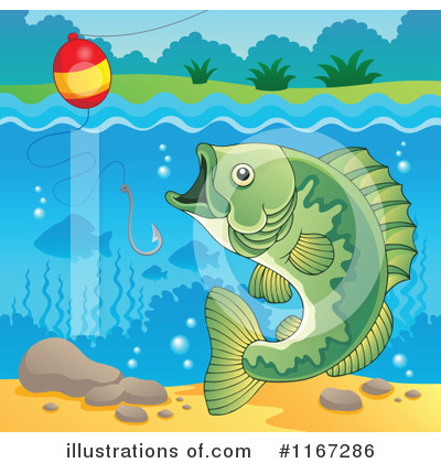 Fishing Clipart #1167286 by visekart
