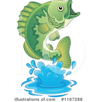 Fish Clipart #1167288 by visekart