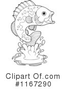 Fish Clipart #1167290 by visekart