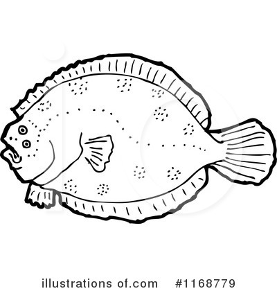 Flounder Clipart #1168779 by lineartestpilot